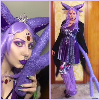 Espeon cosplay by Countess-Grotesque