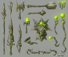 Sylvan Weapons by sage525