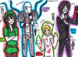 creepypasta XDXD by NENEBUBBLEELOVER