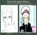 Trafalgar law improvement meme by Fran48