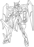 Quick gundam sketch by joeyfisher