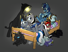 All the Ponies in the Bed by Nessia