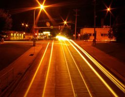 light trails by foodshelf