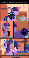 Past Sins: Reunion of the Royal Pony Sisters P10 by SaturnStar14