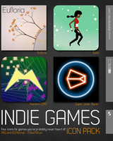 Indie Games Icon Pack by shanesemler