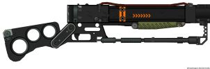 Fallout 3 Lazer Rifle by Simeon-FPMG
