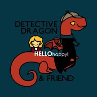 detective dragon n friend - sherlock hobbit parody by hellohappycrafts