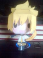 My Papercraft Kagamine Len by aninhachanhp