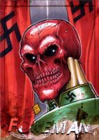 Red Skull PSC by Foreman by chris-foreman