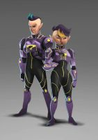 Wonder twins redesign by Ro-ol