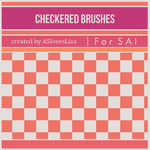 {SAI resources} Checkered Brushes by ASlovesLisa