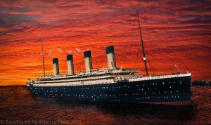 RMS Olympic recoloured by Elfsire
