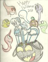Halloween Fest 2013: Halloween Candy by AtomicKingBoo