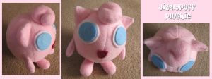 Jigglypuff Plushie by aliceazzo