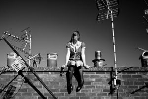Rooftop Fashion 2 by RussFreeman