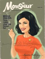 Megan Draper in Monsieur by AtomicKirby
