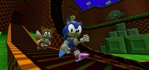 Heroes of the Green Hill Zone by JackAxeWell