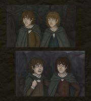 Hobbits :D by Loony-Lucy
