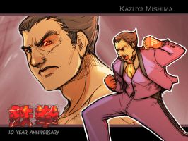 Tekken 10th Anniversary III by LMJWorks