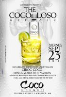 coco loso affair flyer by DeityDesignz
