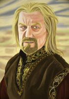 Theoden, king of Rohan by DameOdessa