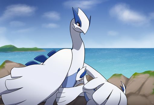 Lugia Mother by MightyRaptor