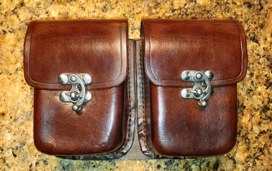Double Pocket Belt Pouch by DanTheLefty