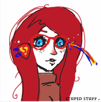 Stupid brain and stuff . by iDeathNee