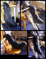 Angrist Wolf Tail by CuriousCreatures