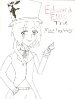 FMA: Ed Elric The MadHatter by almabrangel