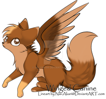 Winged Canine -Adopt -Open by Leliana86