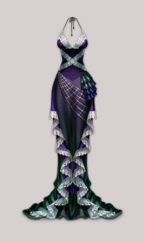 Anima: Arachne dress by Wen-M