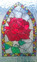Rose Window cling by WhisperingWoodCrafts