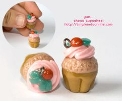 Choco Cupcakes by hanmei