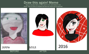 Draw it again meme by Corpse-Husband