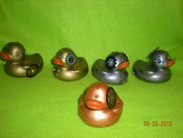 Bolted Rubber Ducks by Oriana-X-Myst