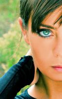 GREEN EYES 2 by Aitor-michel