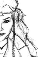 WIP - The Queen by Caelkriss