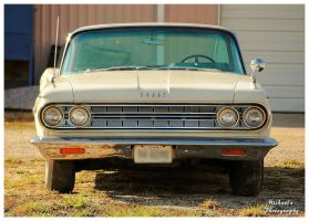 An Old White Dodge by TheMan268
