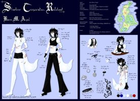 Shadow Corp Refsheet - Kave by Head-of-Silence