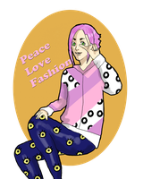 Peace Love Fashion by Randomeister