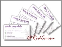 Winda's Business Card by R3dCarra