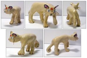 Pokemon Persian Sculpture by tastee-tea