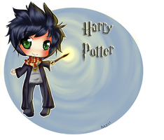 Chibi Harry potter by Yas-mi-ne
