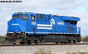 Conrail Heritage 8098 roster shot by EternalFlame1891