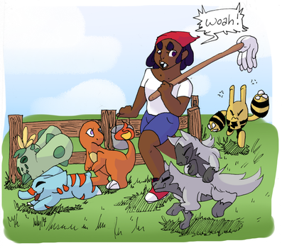 [PARPG} Weekly Prompt - Trainers! by crumplebottom