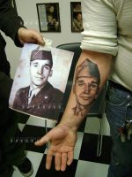 portrait tattoo by m40a2