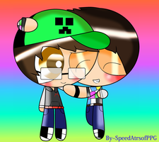ElRubiusOMG and Mangel Rogel -PPG [Whit effects] by SpeedAtrsofPPG