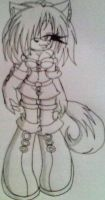 Shina the Wolf by LauryPinky972
