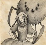 Sketch - Monster I by morganadulac